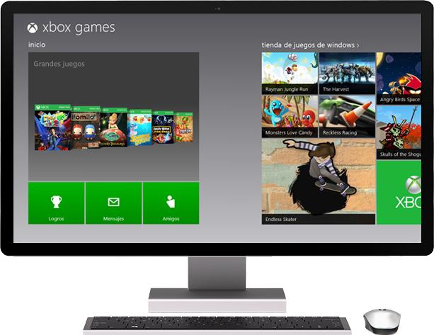 tienda.tpu.mx - Windows 8 Pro - Juegos de Xbox