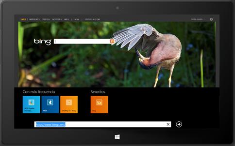 tienda.tpu.mx - Windows 8 Pro - Mas informacion Bing