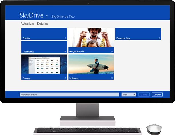tienda.tpu.mx - Windows 8 Pro - SkyDrive